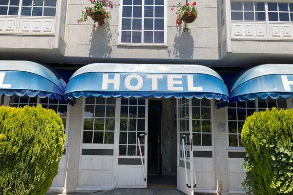 Detalle entrada Hotel